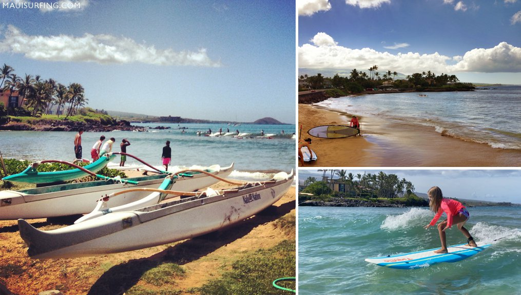 surfing cove kihei